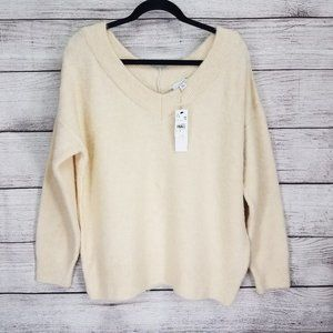 NWT Topshop 12 V-Neck Sweater Pullover